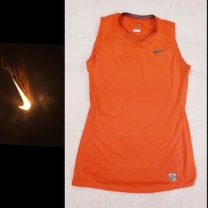 NIKE Pro Sleeveless Tank top Coral Size Small